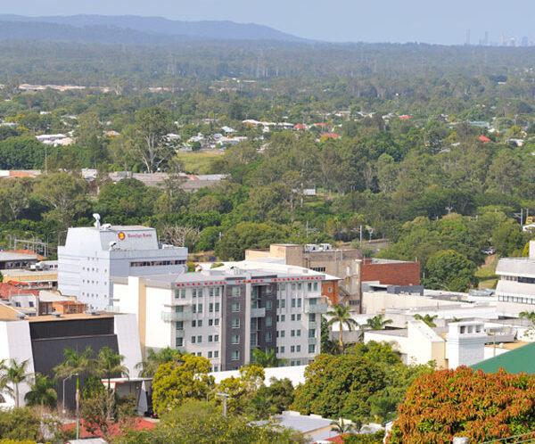 Metro Hotels Ipswich from afar
