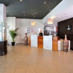 Metro Hotels ipswich international reception