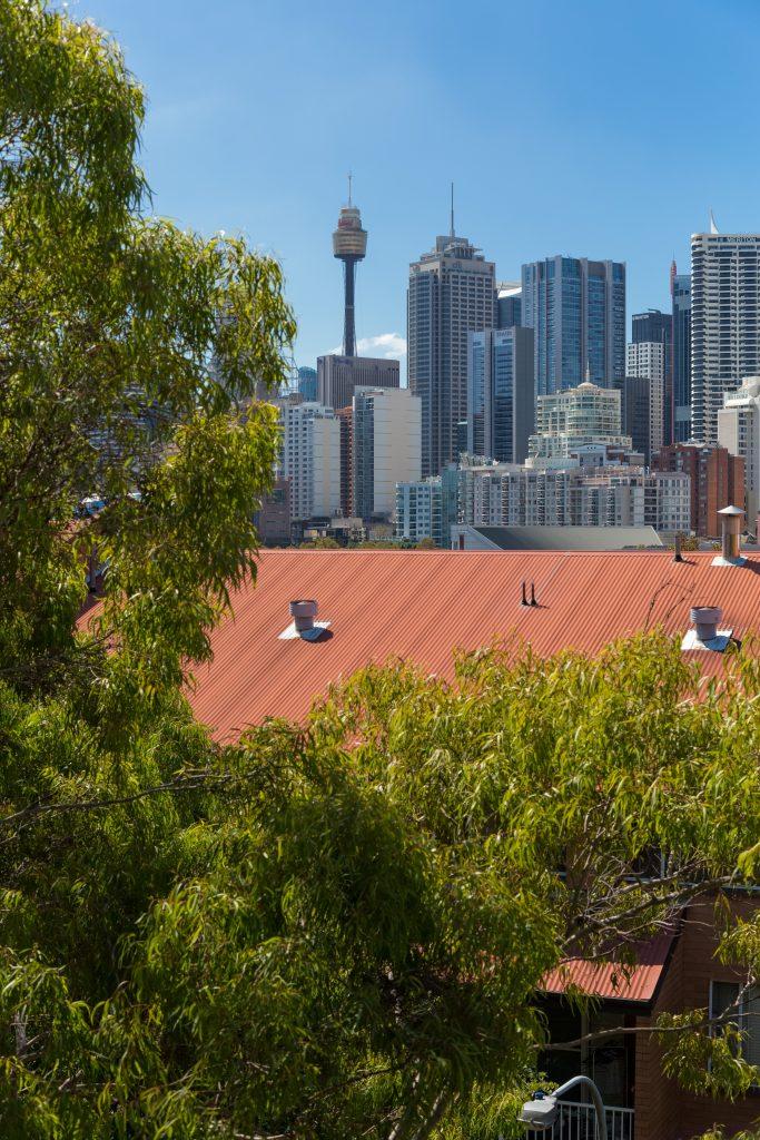Aspire Hotel Sydney + Sydney, Ultimo + View