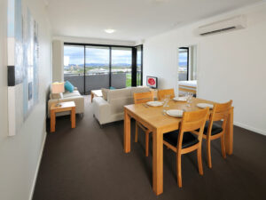Apartments G60 Gladstone Apartment Dining & Lounge Area
