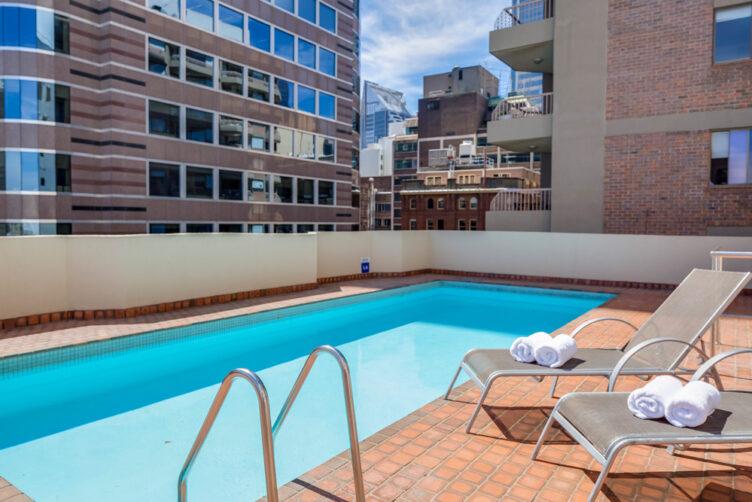 Metro Apartments on King Swimming Pool