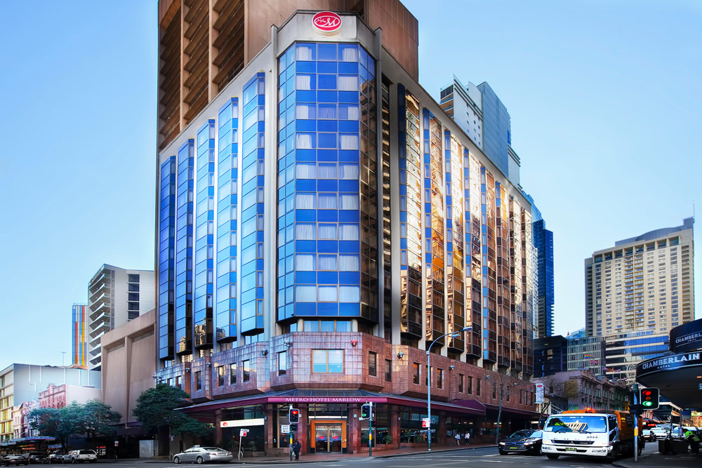 Deal of the Day - Metro Hotel Marlow Sydney Central