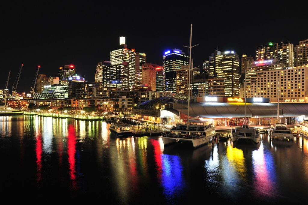 Darling Harbour + View