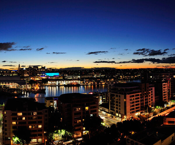 Metro Apartments on Darling Harbour + Darling Harbour, Sydney + View