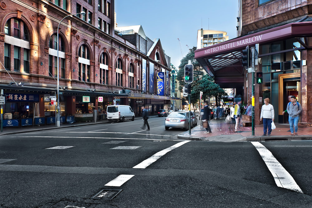 Metro Hotel Marlow Sydney Central + Street View