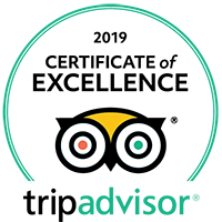 2019 Certificate of Excellence – Tripadvisor