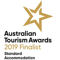 Australian Tourism Awards 2019 Finalist in Standard Accommodation