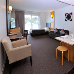 Metro Hotels ipswich International one bedroom lounge living