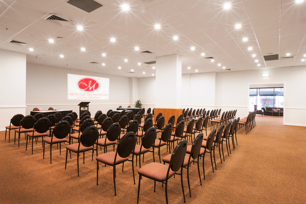 Metro Hotel Marlow Sydney Central + Large Conference Room