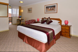 Metro Inn Ryde Deluxe Queen Room