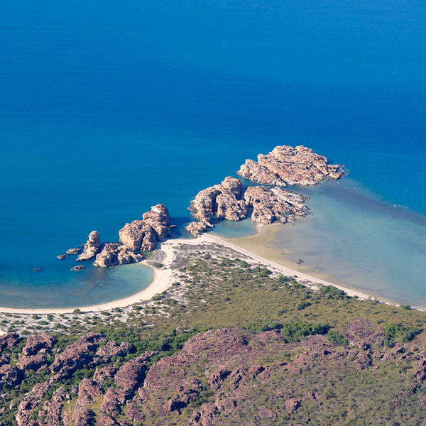 Groote Eylandt Lodge Aerial View