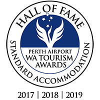 Hall of Fame – Perth Airport WA Tourism Awards in Standard Accommodation