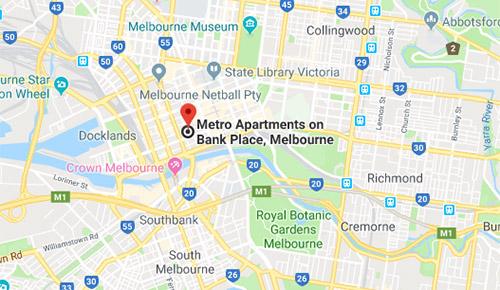 Metro Apartments On Bank Place Melbourne Cbd Self