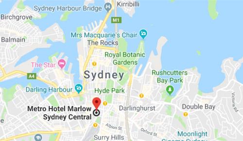 Metro Hotel Marlow Sydney Central - Sydney CBD Hotel, Metro ... on map of osa, map of poprad, map of anc, map of wan, map of xi, map of mke, map of seu, map of cou, map of bro, map of bdl, map of network, map of cha, map of diego, map of cas, map of swi, map of cae, map of xna, map of pc, map of ps,