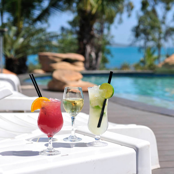 Groote Eylandt Lodge Poolside Cocktails