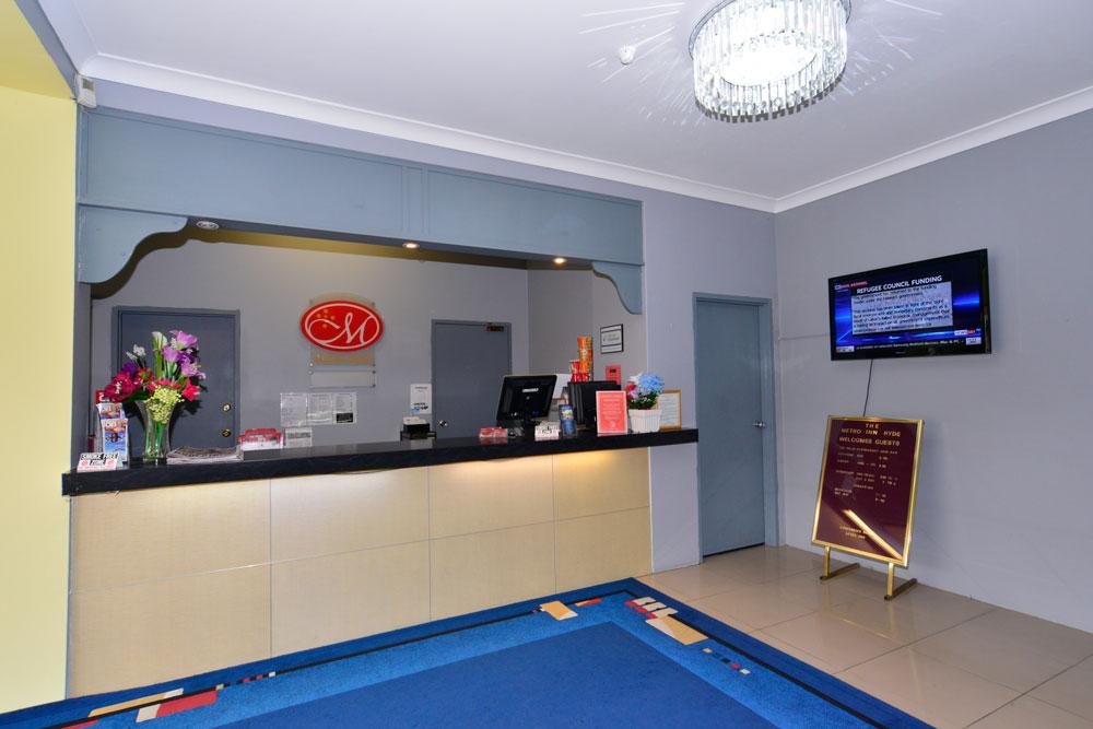 Metro Inn Ryde Reception