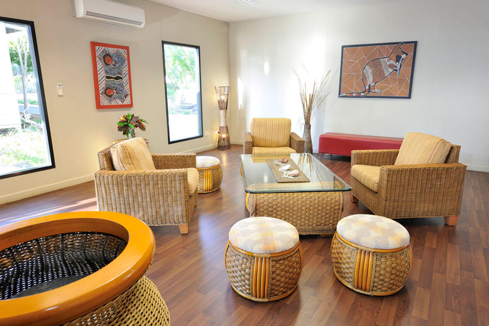 Groote Eylandt Lodge Lounging Area