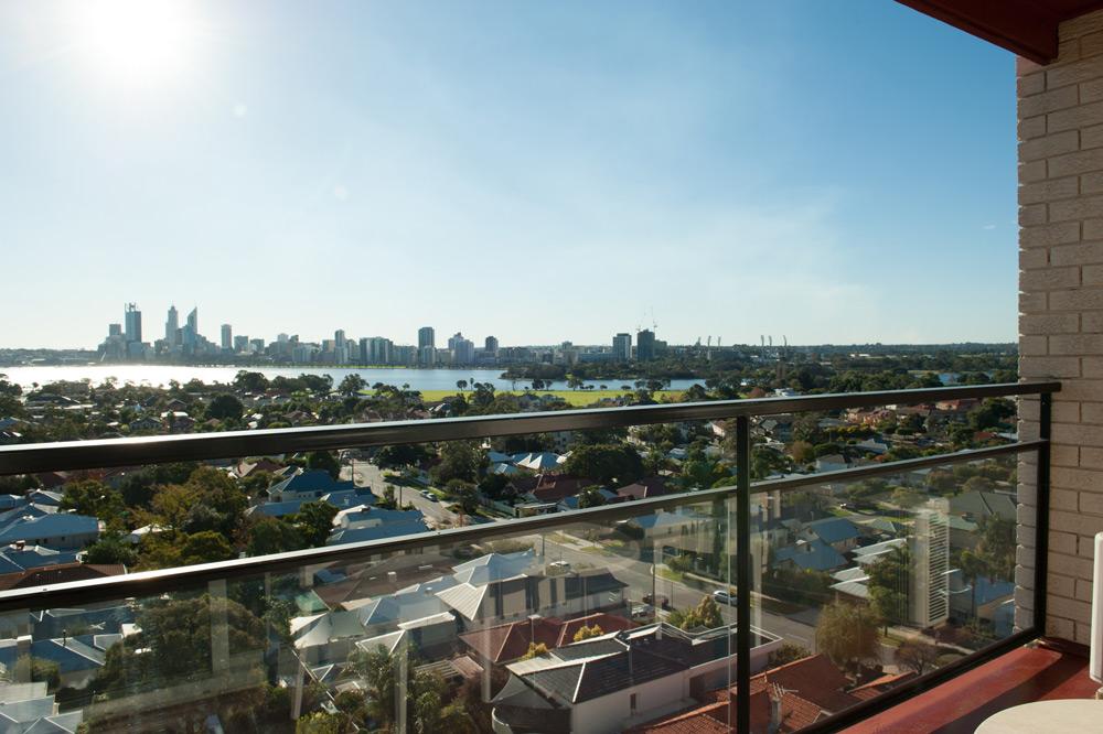 Metro Hotel Perth Balcony