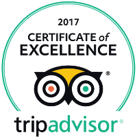2017 Certificate of Excellence – Tripadvisor