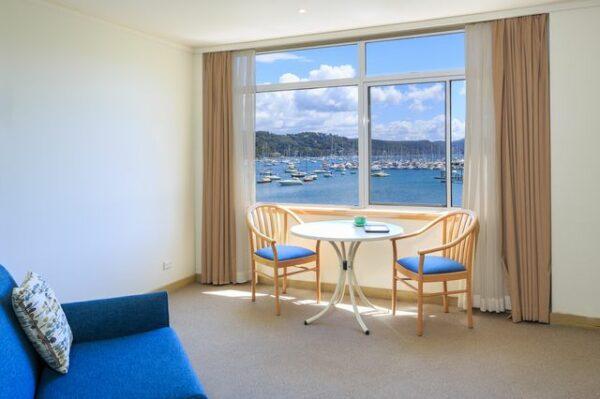 Metro Mirage Hotel Newport Waterfront Spa Room View