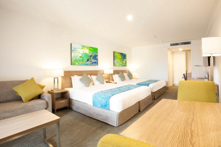 Aspire Hotel Sydney + twinroom