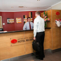 Metro Hotels Tower Mill Reception