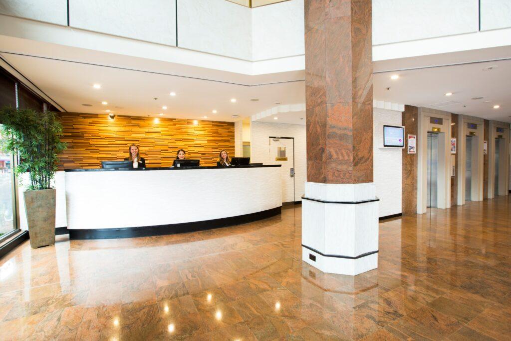 Metro Hotel Marlow Sydney Central Lobby