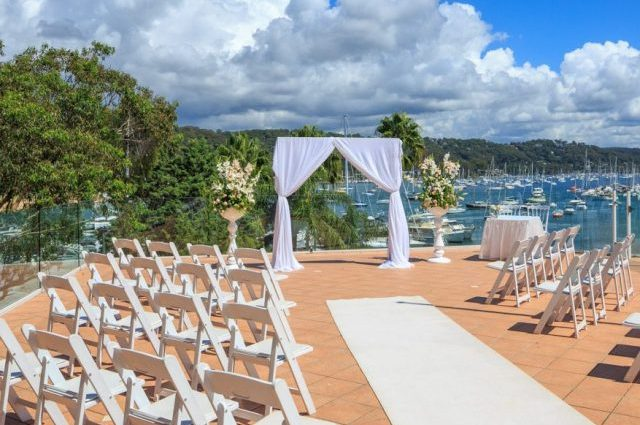 Pittwater Reception Room and Waterfront Ceremony Terrace | Metro Mirage Hotel Newport