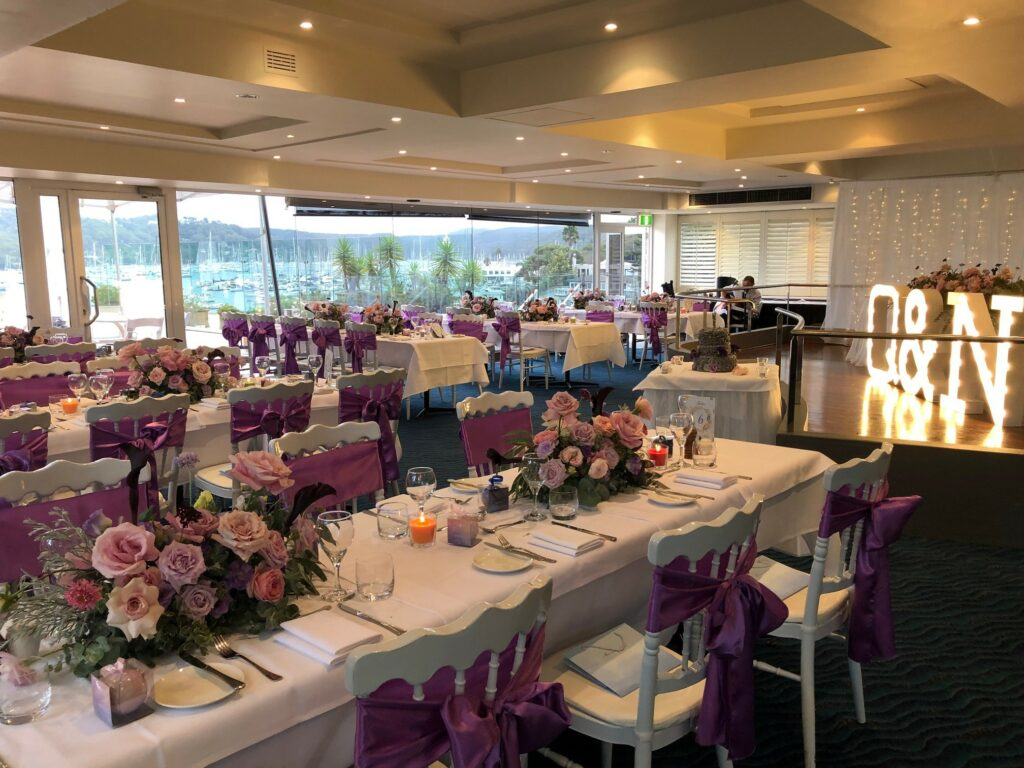 Pittwater Reception Room and Waterfront Ceremony Terrace - Metro Mirage Hotel Newport