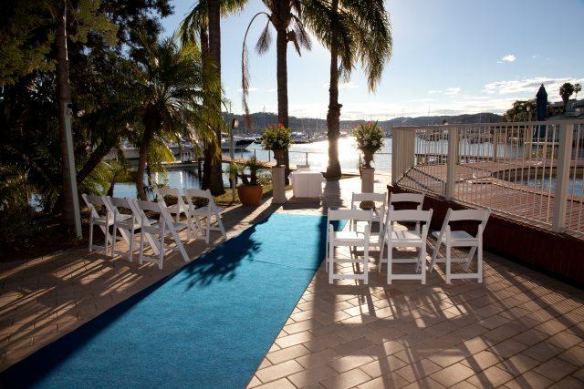 Poolside Alfresco Function Area | Metro Mirage Hotel Newport