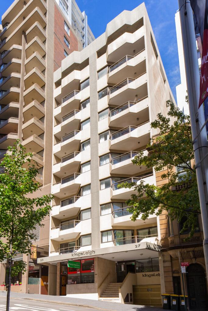 Metro Apartments on King Exterior