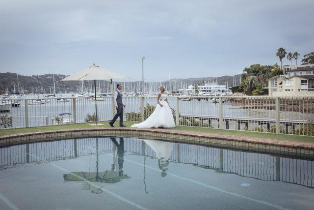 newport wedding photo