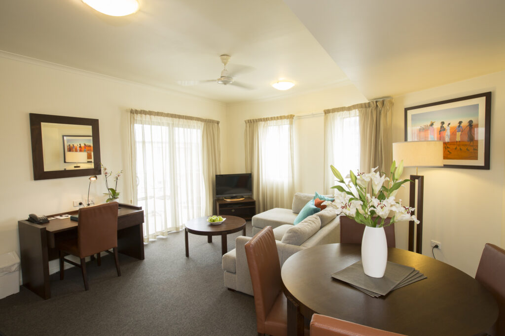 Metro Advance Apartments & Hotel Darwin 1 BR Lounge