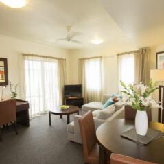 Metro Advance Apartments & Hotel Darwin 1 BR Lounge