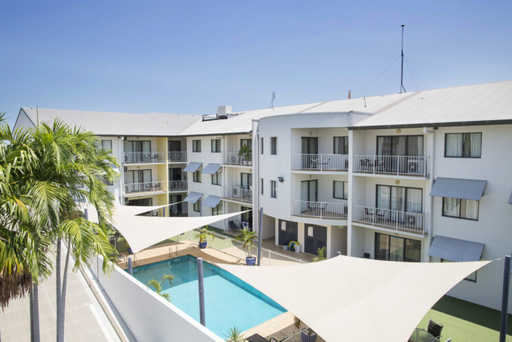 Serviced Apartment in Darwin with outdoor Swimming Pool