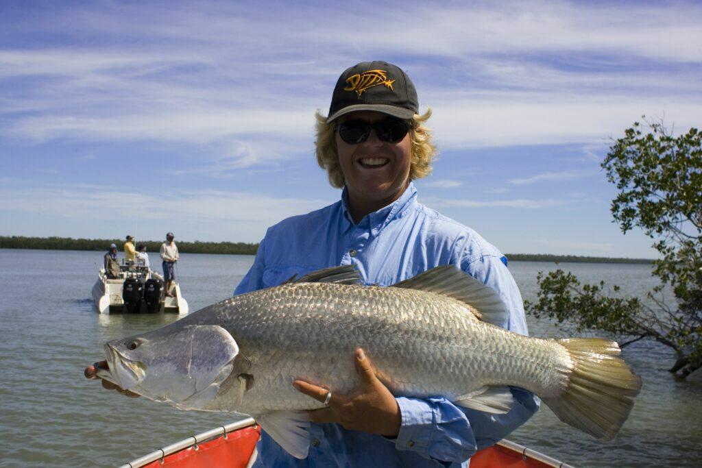 Barra Fishing pic