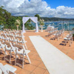 Metro Mirage Hotel Newport Terrace Wedding Ceremony
