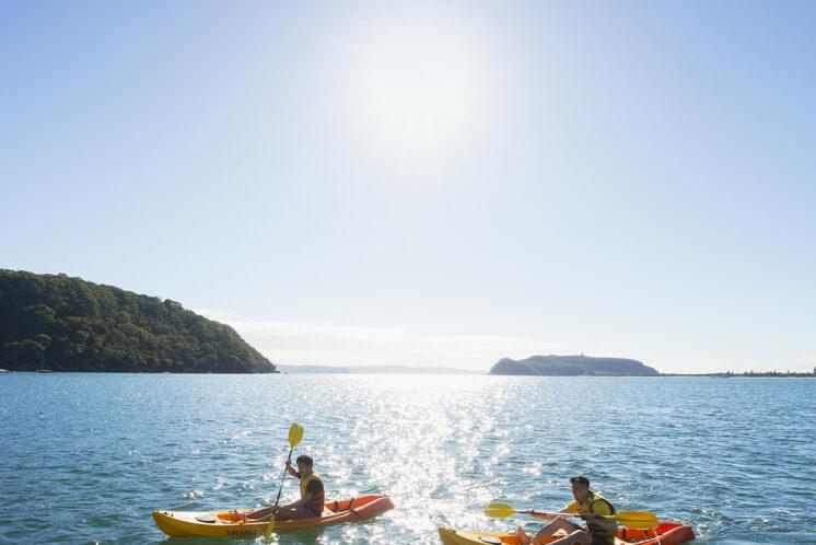 SOCIAL MEDIA - 1:1 Kayaking, Pittwater