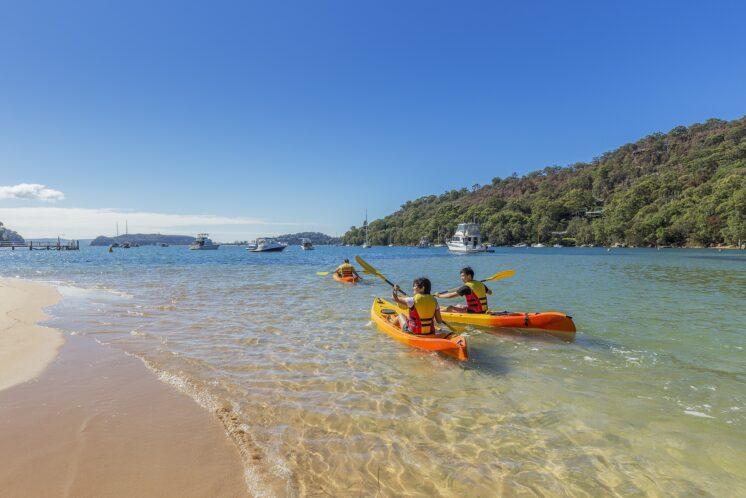 Kayaking, Pittwater