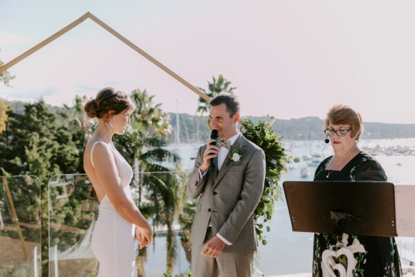 Newport wedding ceremony