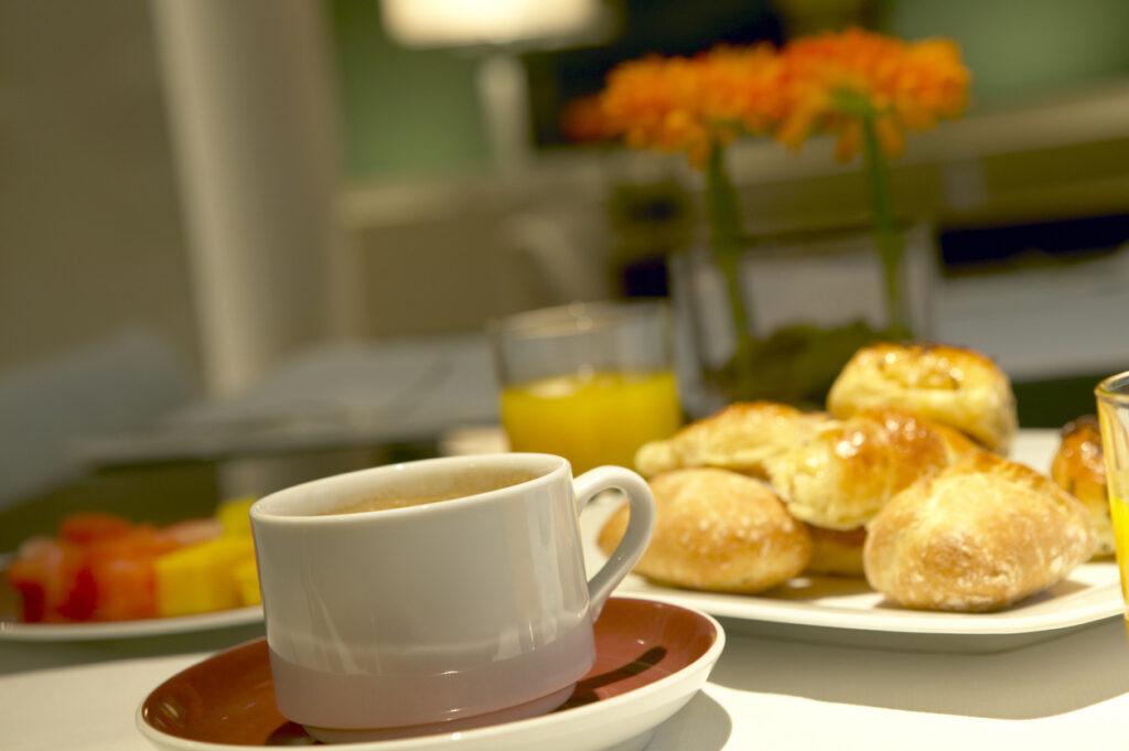 Breakfast room service Metro Aspire Hotel